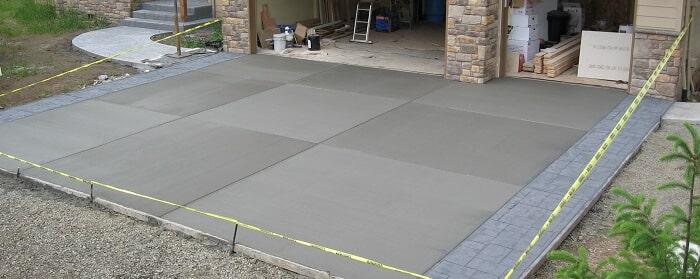 concrete installation Sacramento