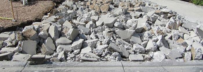 concrete removal Sacramento