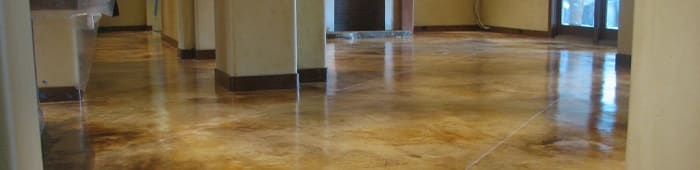 stained concrete Sacramento